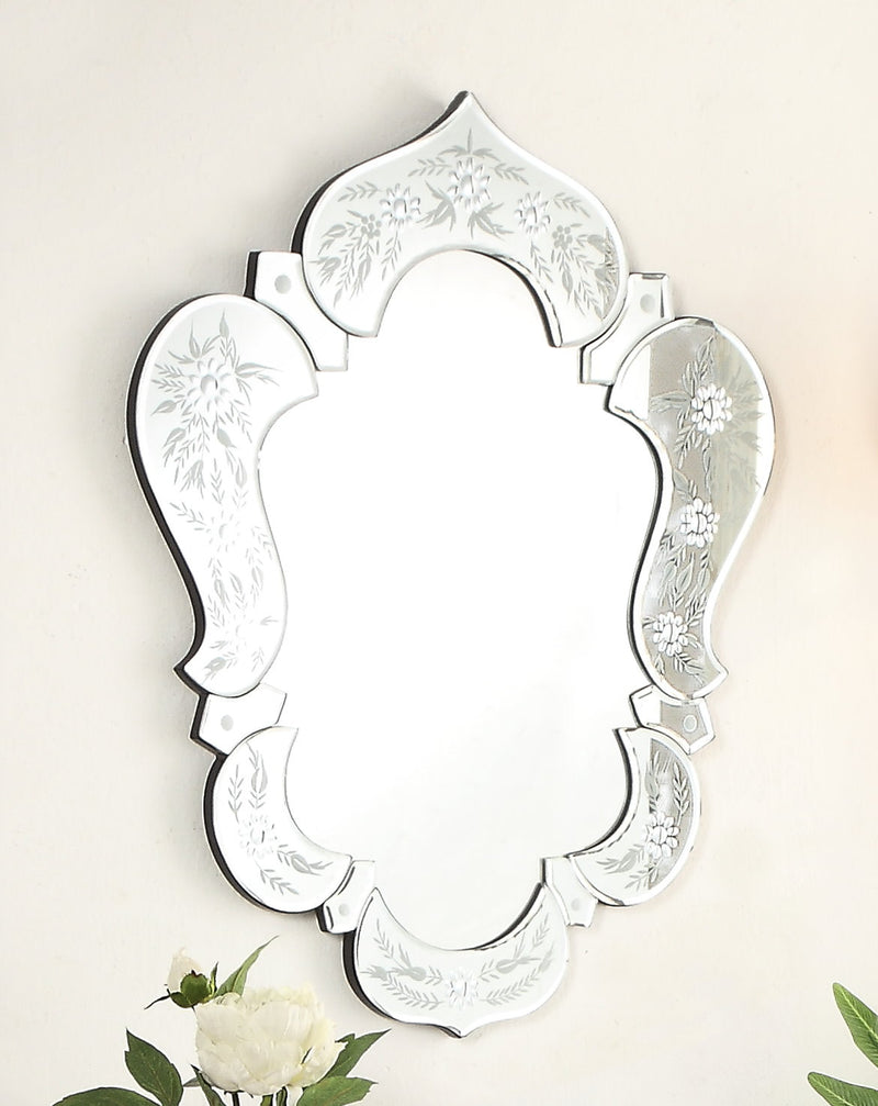 Broni 22 Inch Venetian Style Wall Mirror Ym 700 2227 Bentoncollections