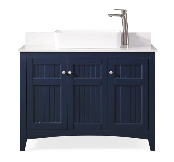 "42"" Causal Style vessel sink Thomasville Bathroom Sink Vanity  Model # ZK-77333NB"