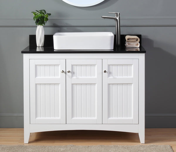 "42"" Causal Style vessel sink Thomasville Bathroom Sink Vanity  Model # ZK-77888GT"