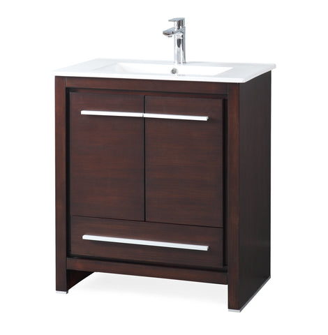 "30"" Tennant Brand Modern Style Bathroom Sink Vanity ZK-8033-Z30 Preston"