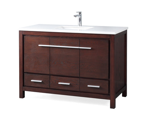 "48"" Tennant Brand Modern Style Bathroom Sink Vanity - ZK-8036-V48 Percey"