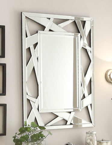"Zenni Mirror size: 28 x 38""H MR-2206 - Chans Furniture"