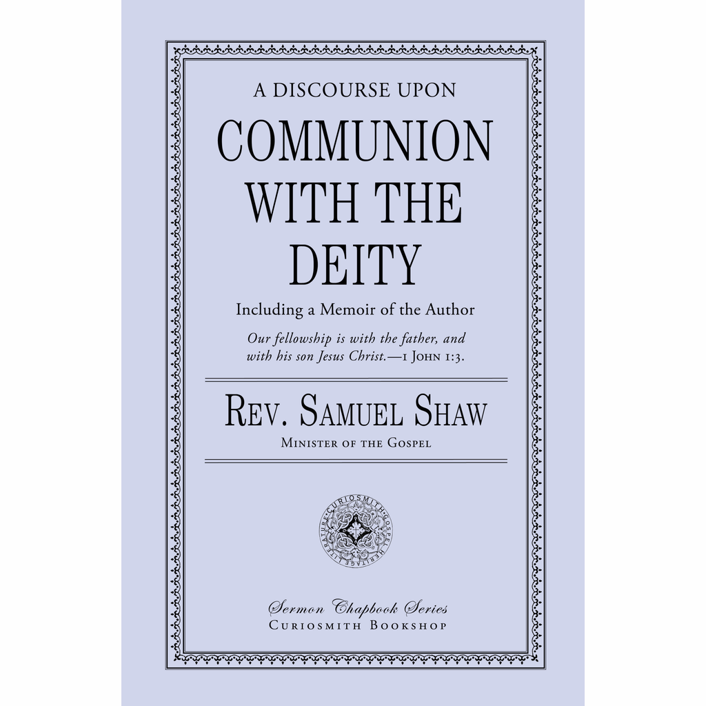 Communion with the Deity by Samuel Shaw