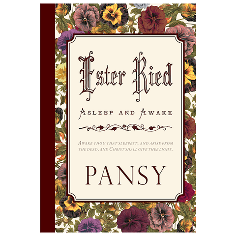 Ester Ried: Asleep and Awake by Pansy