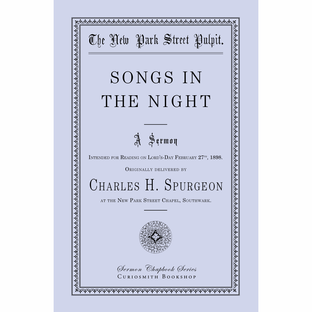 Songs in the Night by Charles Spurgeon