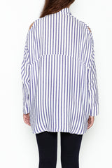 Boyfriend Striped Shirt