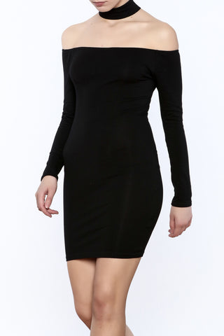 Choker Body-Con Dress