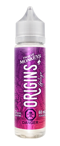 Twelve Monkeys Vapor: Origins 60ml