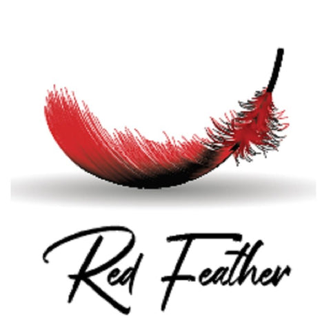 Bablito Red Feather