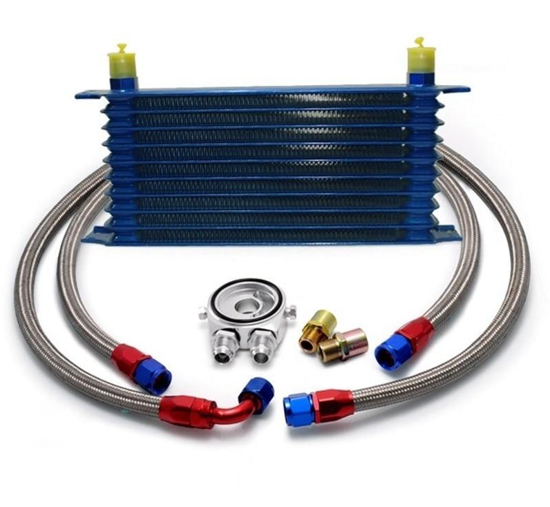 Universal 10 Row Oil Cooler Kit
