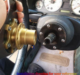 Steering Wheel Quick Release Kit