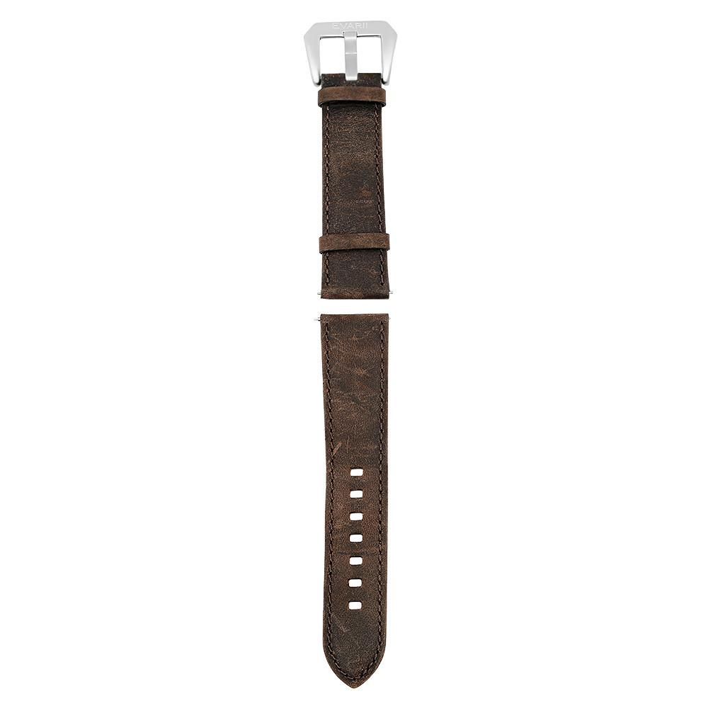 Worn Brown Leather Strap