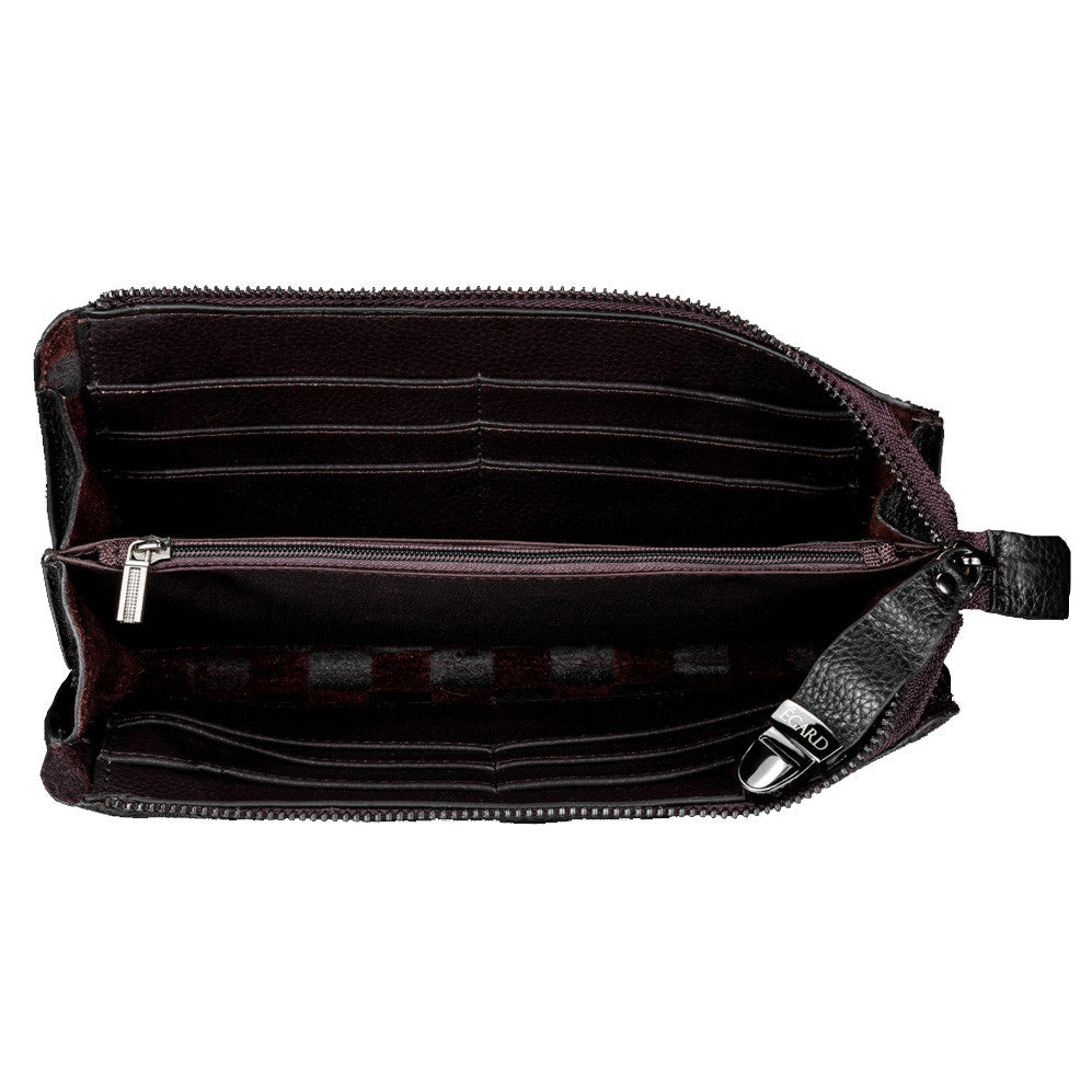 Unisex Leather Clutch Bag