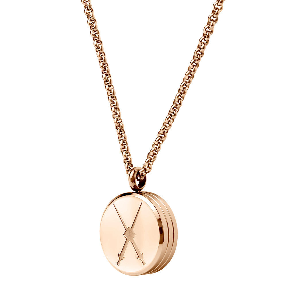 Tourbillon Necklace Rose