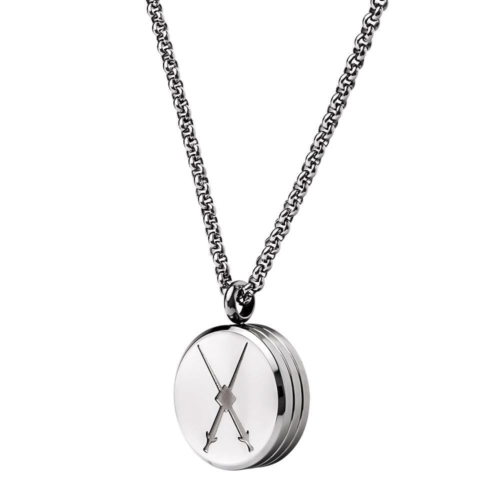 Tourbillon Necklace Steel