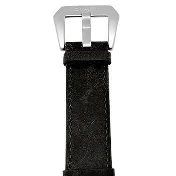 Worn Black Leather Strap