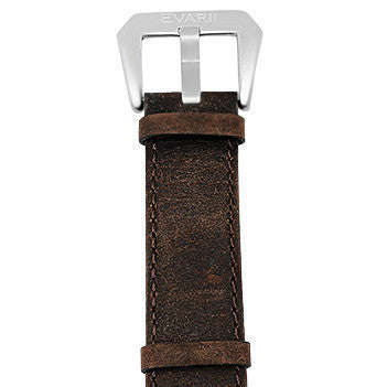 Worn Brown Leather Strap - Builder