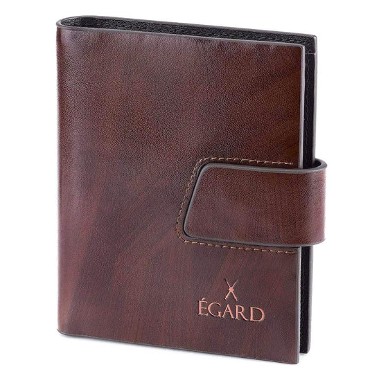 Brown Piano Leather Wallet