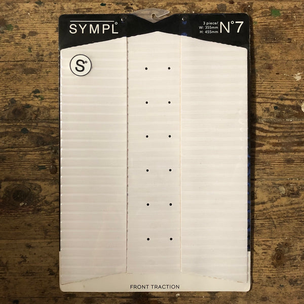 Sympl Pad front white