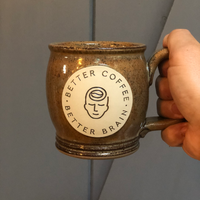 Neuro Coffee Handmade Ceramic Mug
