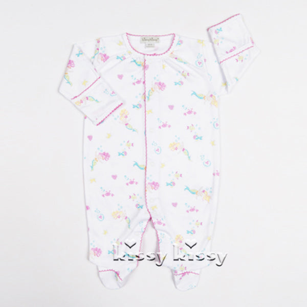Kissy Kissy <br>Mini Mermaids Footie