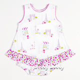 Kissy Kissy <br>Parisian Summer Ruffle Bubble