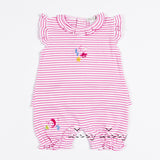 Kissy Kissy <br>Sea Wonder Strips Short Playsuit