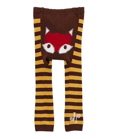 Doodle Pants Brown Fox Leggings