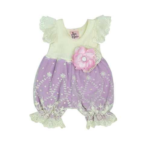 HAUTE BABY<br>APRIL DAWN BUBBLE ROMPER