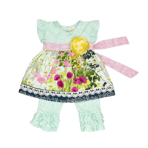 HAUTE BABY<br>KAYLEE'S BOUQUET GIRLS SWING SET