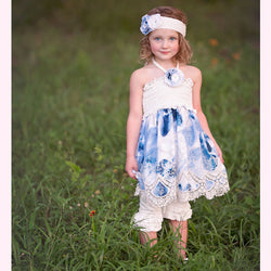 HAUTE BABY<br>SUMMER SONG GIRLS TUNIC SET