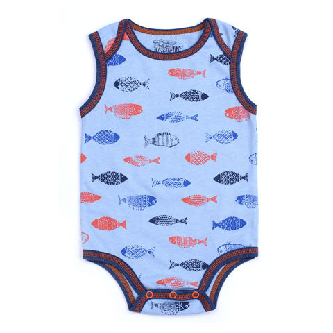 Kapital K Blue Fish Bodysuit