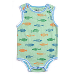 Kapital K Green Fish Bodysuit