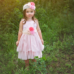 HAUTE BABY<br>HINT OF SPRING  GIRLS DRESS