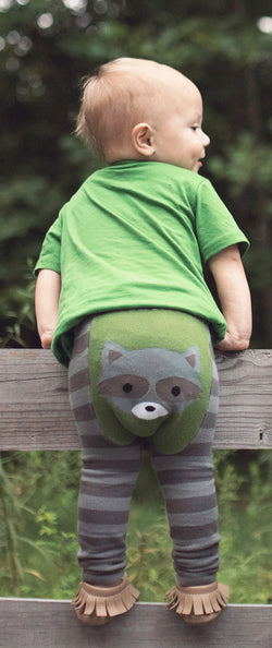 Doodle Pants <br>Woodland Raccoon Leggings