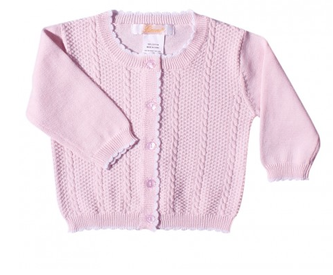Zubels <br>Cable Knit Cardigan