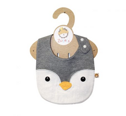 Zubels <br>Penguin Face Bib