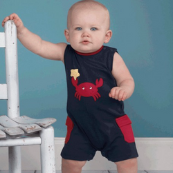Zubels <br>Crab Knit Romper