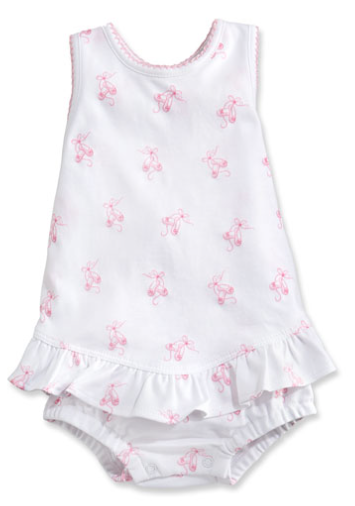 Kissy Kissy <br>Baby's Ballet Slippers Ruffle Bubble