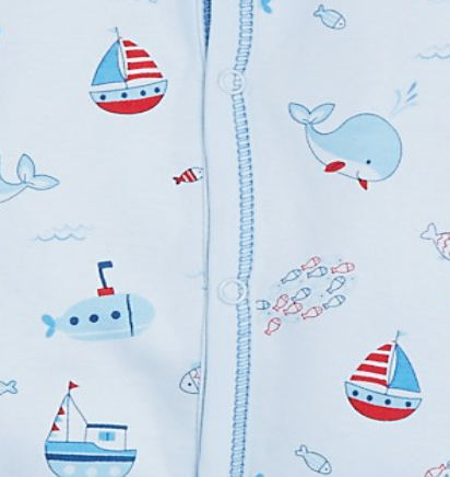 Kissy Kissy <br>Ahoy There Short Playsuit