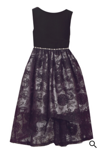 Bonnie Jean Ity Soutache Skirt dress