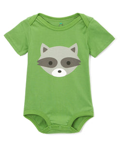 Doodle Pants <br>Woodland Raccoon Bodysuit