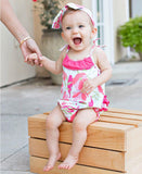 Sweet Stems Pom Pom Bubble Romper