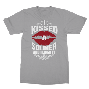 I Kissed A Soldier And I Liked It Classic Adult T-Shirt