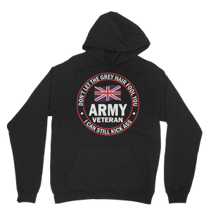 Army Veteran - I Can Still Kick A** Classic Adult Hoodie