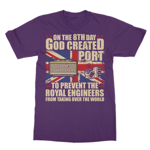 Royal Engineers Love Port Classic Adult T-Shirt