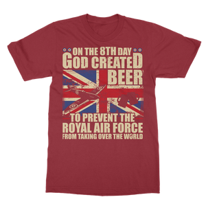 Royal Air Force Loves Beer Classic Adult T-Shirt