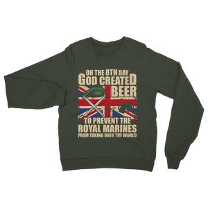 Royal Marines Love Beer Classic Adult Sweatshirt