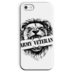 Army Veteran x British Lion Phone Case