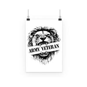 Army Veteran x British Lion Poster